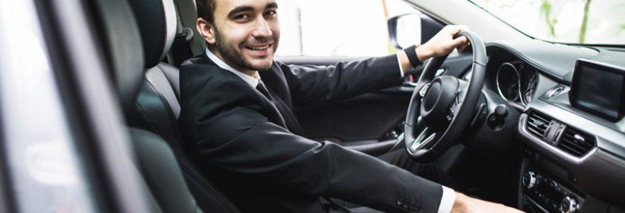 chauffeur de taxi privé